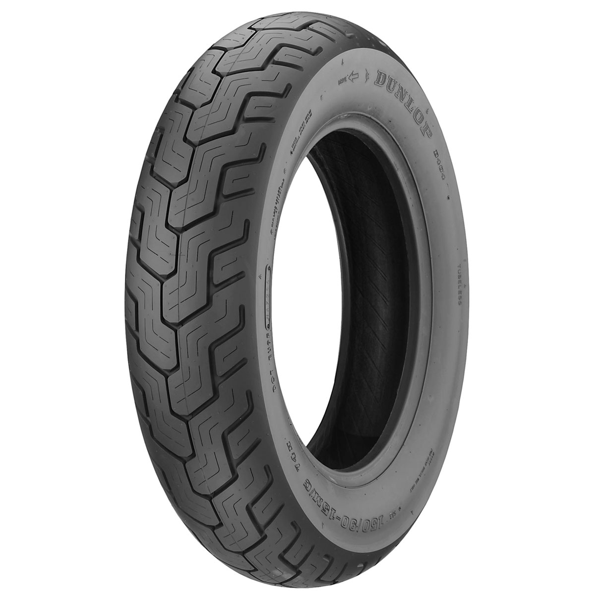DUNLOP 140/90-16 D404 71H Tubeless (Brand of EU/Made in Indonesia)