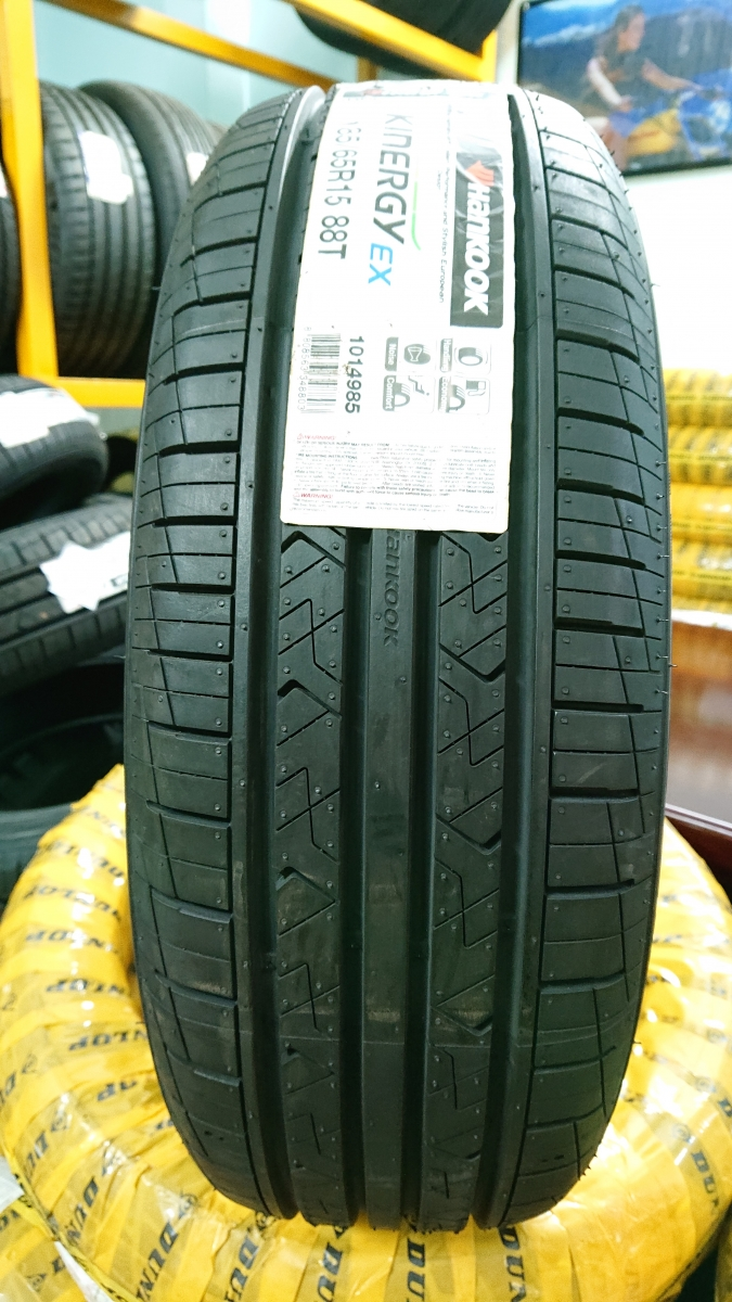 HANKOOK 185/65R15 88T KINERGY Ex (Brand of Korea/Made in Indonesia) * Ô tô Hyundai Accent 2018 (1.4 MT & 1.4 AT)