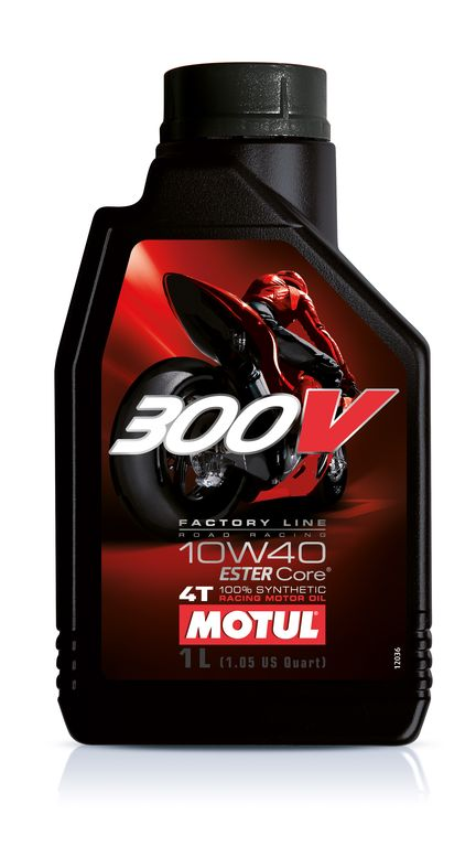MOTUL 300V 10W40 1L * Factory Line Road Racing ESTER Core 100% Synthetic (Made in France)