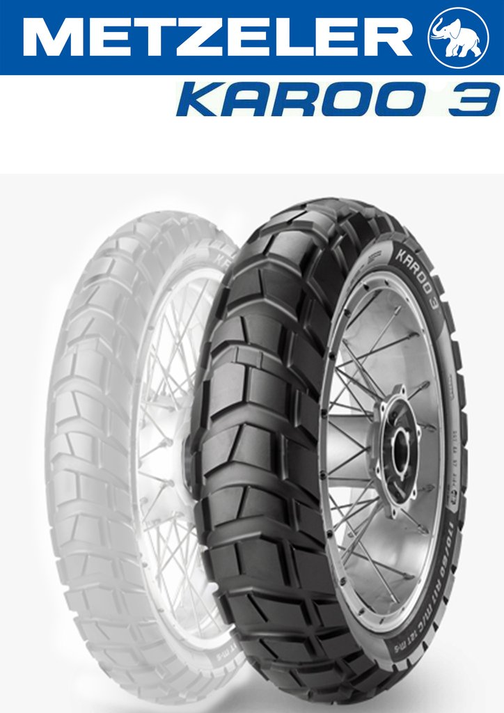 METZELER 170/60 R17 72T Tubeless Karoo 3 (Made in Germany)