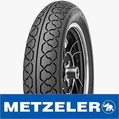 METZELER ME77 Perfect 130/90-16 (MT90 B16) Tubeless 67S MC (Brand of Germany/Made in Brazil)