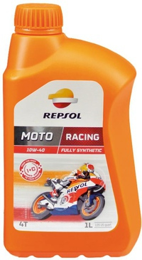 REPSOL Moto Racing 4T 10W40 Fully Synthetic (100% tổng hợp) * Made in Europe