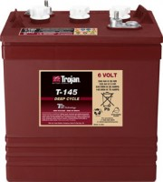 Ắc quy TROJAN 6V-260 Ah / T-145 Plus Deep-Cycle Battery (Made in USA)